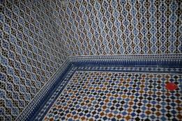 Devis Travaux De Construction De Salle De Bain Marocaine Salle De Bain  Orientale, Avec Comme Revetement Carrelage Murale Et Sol, Du Zellige  Travaillé ...